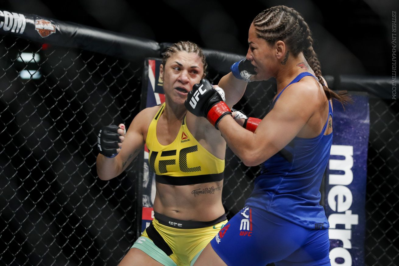 Bethe Correia had to go under the knife earlier this year.