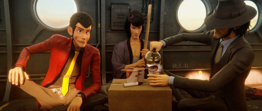 lupin III: The first gang drinks tea