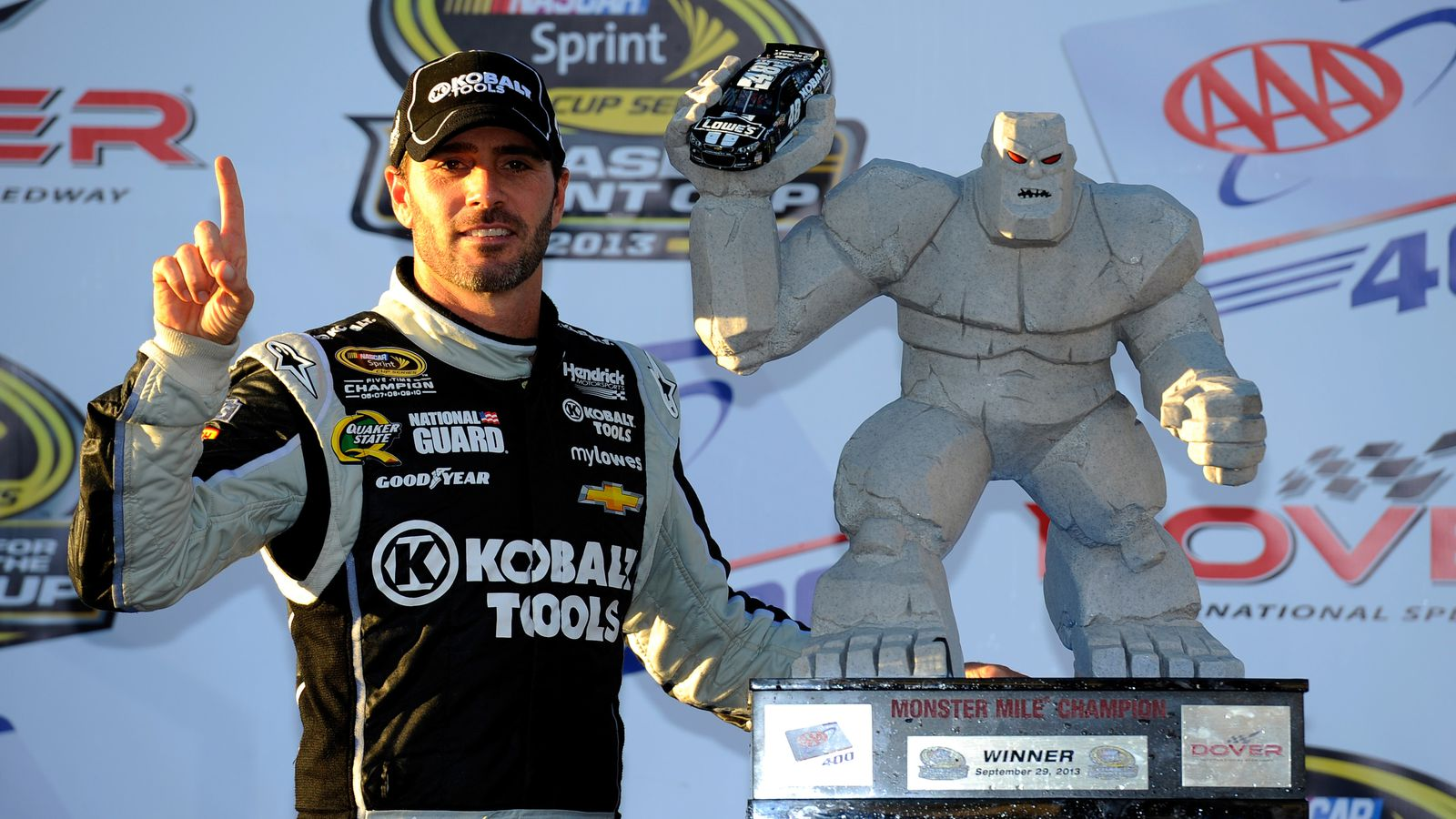 Jimmie Johnson Makes Championship Case With Dover Win