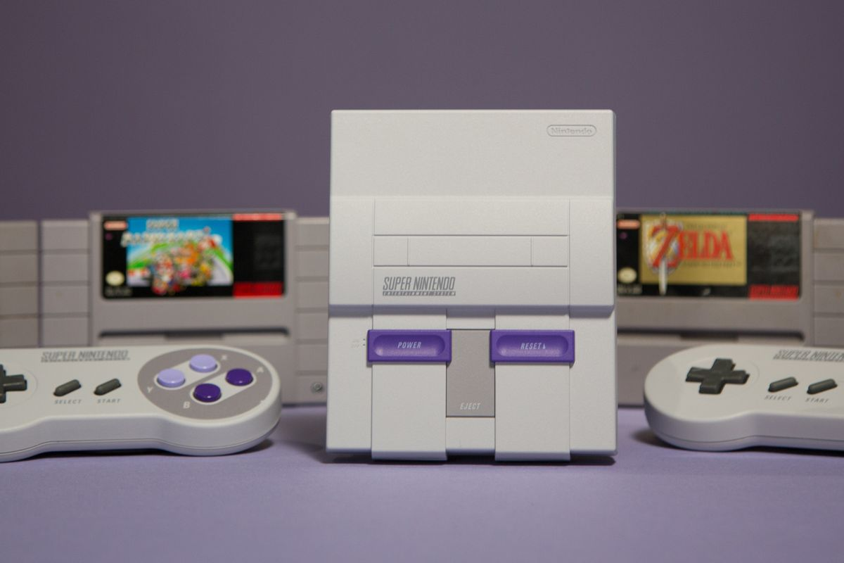 SNES Classic and the cartridges you won't have to use again