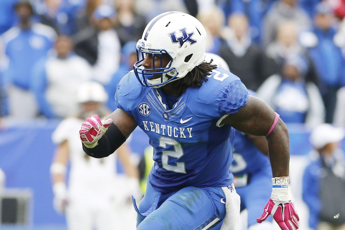 official photos 47a64 d5e3d Pittsburgh Steelers Draft Picks: Bud Dupree selected with ...
