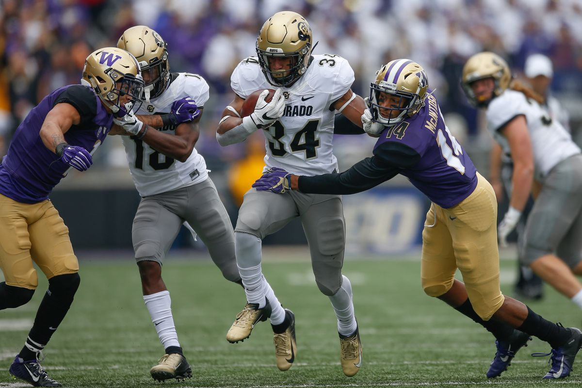 61ea1d62e55 Buffaloes RB Travon McMillian signs with Pittsburgh Steelers as undrafted  free agent