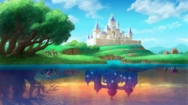 The Legend of Zelda: A Link Between Worlds review: as a picture