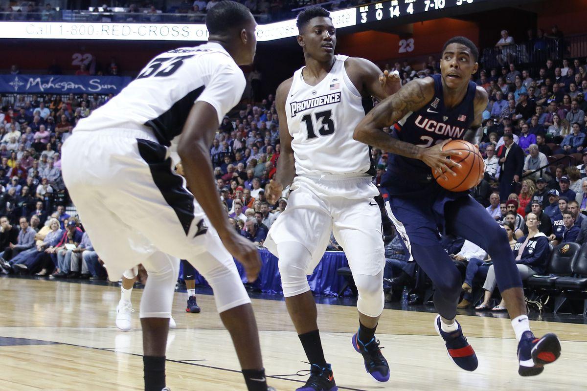 uconn men's basketball drops exhibition opener to providence, 90-76