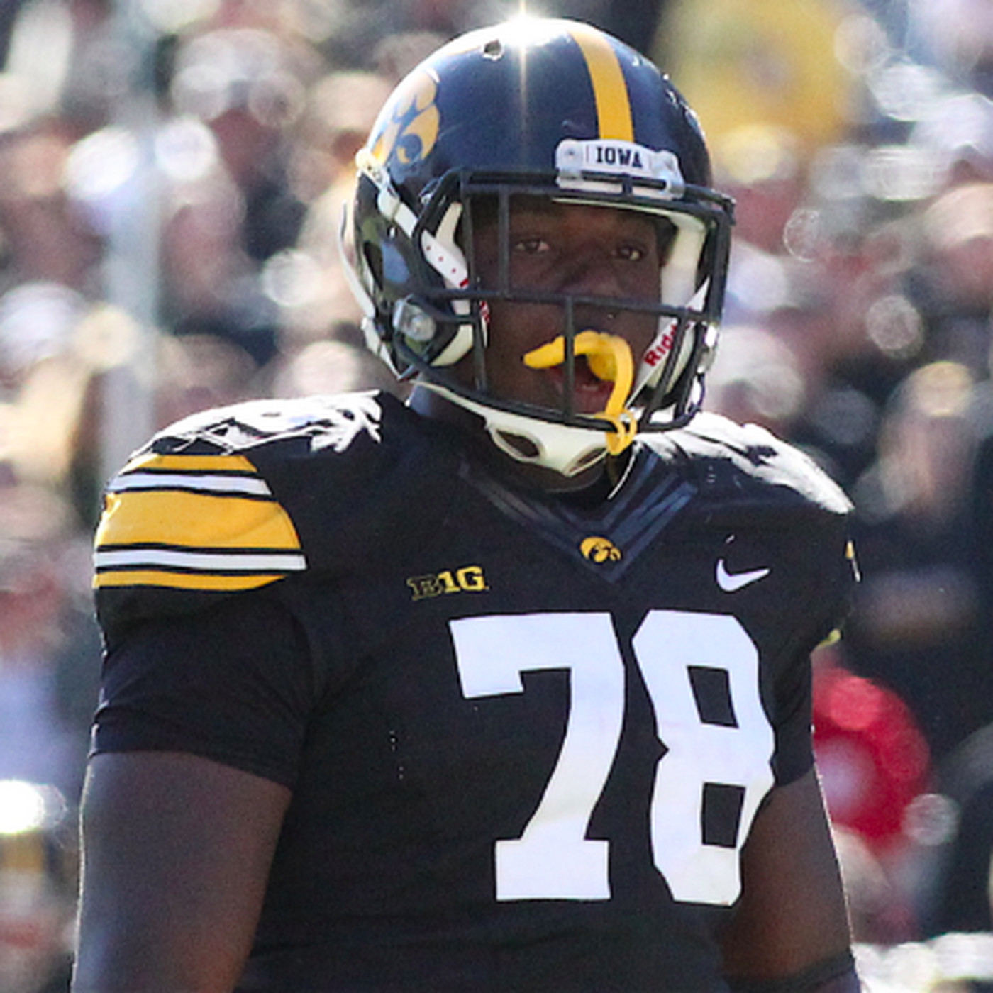 sneakers for cheap 4912e 9b889 A Whitehair adjustment? Iowa's James Daniels to visit ...