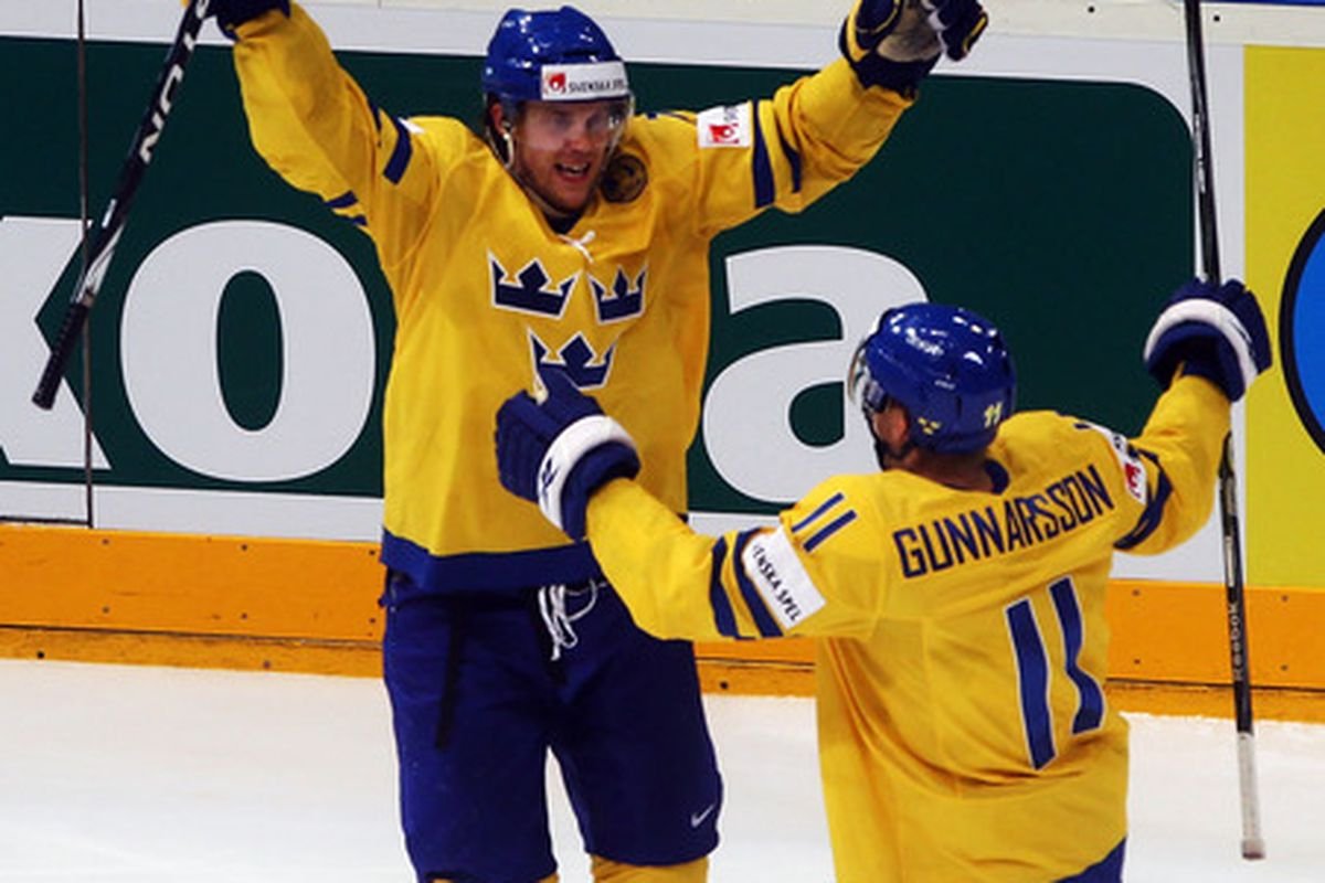 It's expected that Jonas Andersson (left) will sign with the Nashville Predators today, but after that the Preds aren't expected to be a major factor in the NHL free agency market.