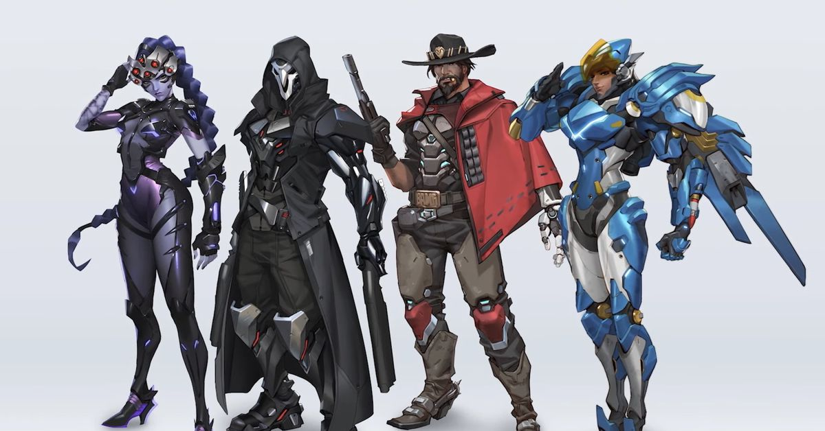 New Overwatch 2 designs for Reaper, McCree, Pharah, and Widowmaker revealed – Polygon