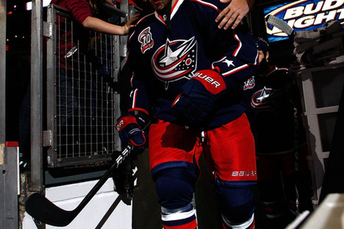 Could the financing of the arena lead to a future without the Blue Jackets? (Photo by John Grieshop/Getty Images)