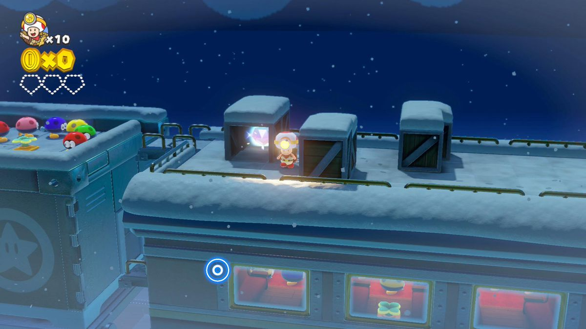 Captain Toad: Treasure Tracker 'Blizzard on the Star Express