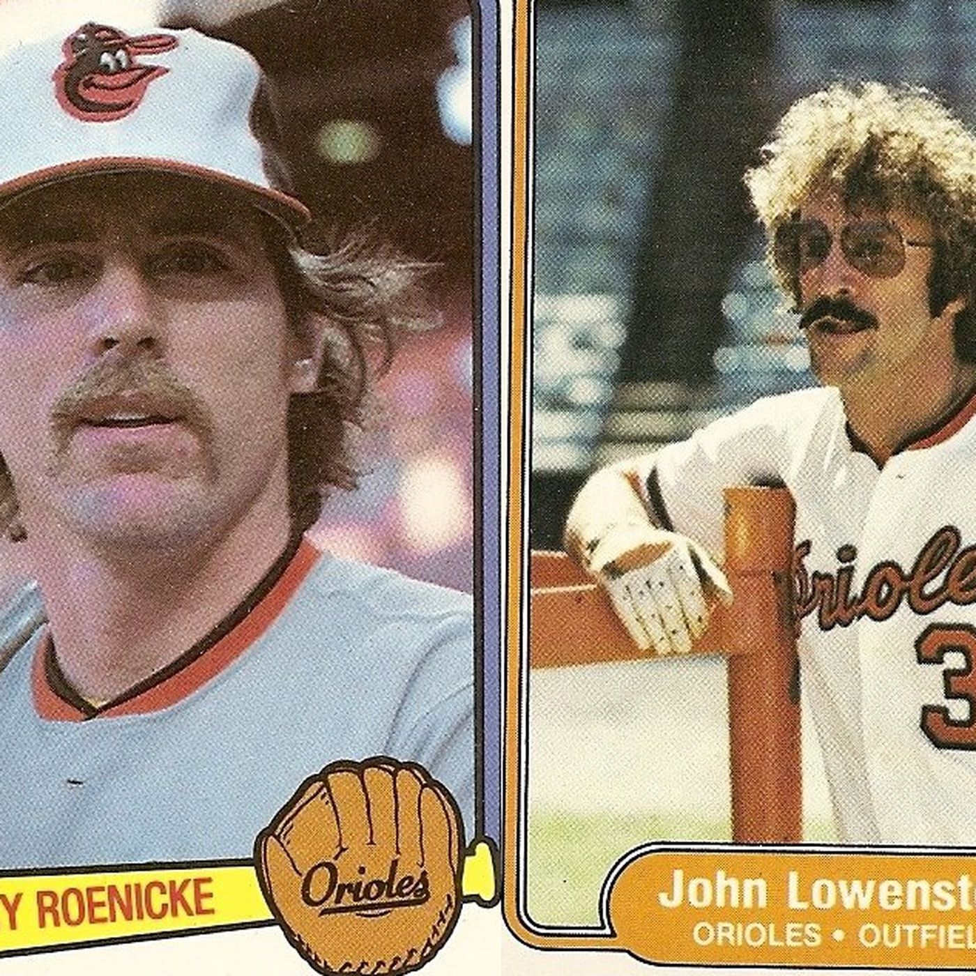 Top 40 Orioles Of All Time 34 Gary Roenicke And John Lowenstein