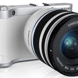"""Samsung NX300 Camera, $649.99, samsung.com. """"Combining the compactness of a point-and-shoot with the power of a professional-grade DSLR, this mirrorless interchangeable-lens model offers the best of both worlds. It delivers 20.3 megapixels, impressive aut"""