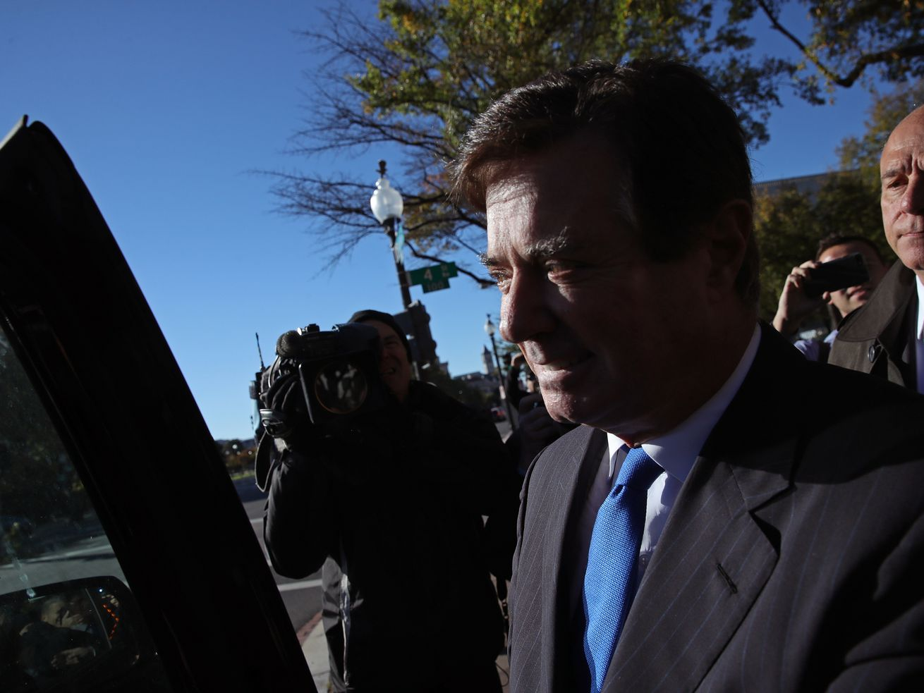 Paul Manafort in October 2017.