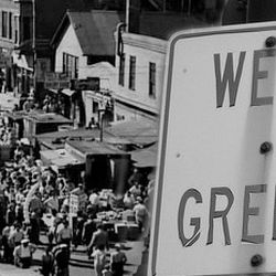 Vintage photos of Chicago's Greektown.   Provided by Greektown Chicago.
