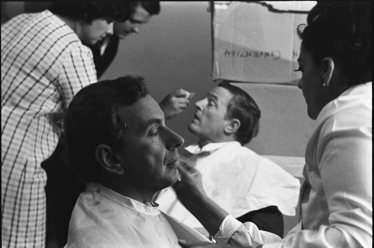 Gore Vidal and William F. Buckley Jr.