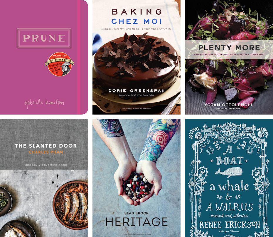 Top Six Cookbooks 2014