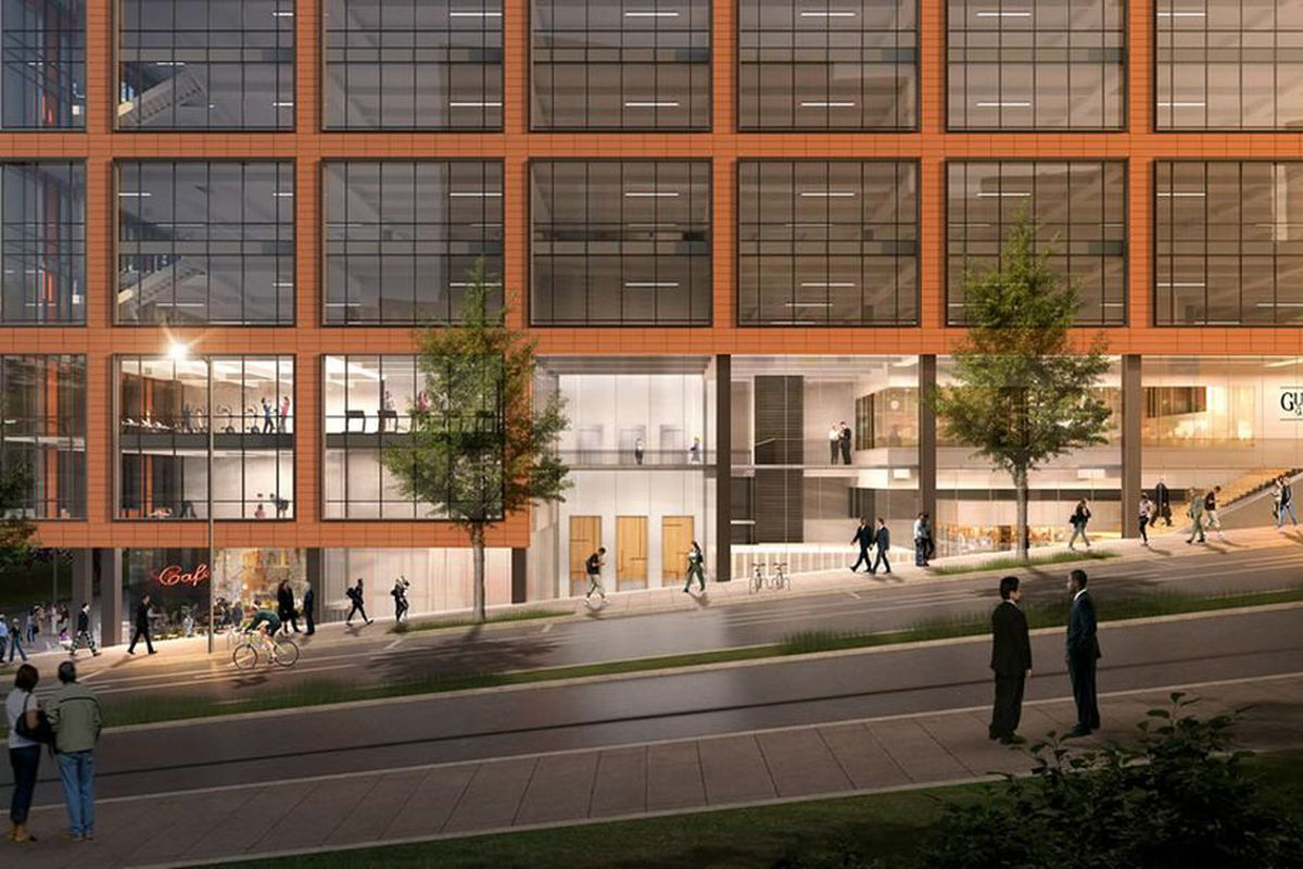 Old fourth ward office concept scrapped apartments to for Apartments near mercedes benz stadium