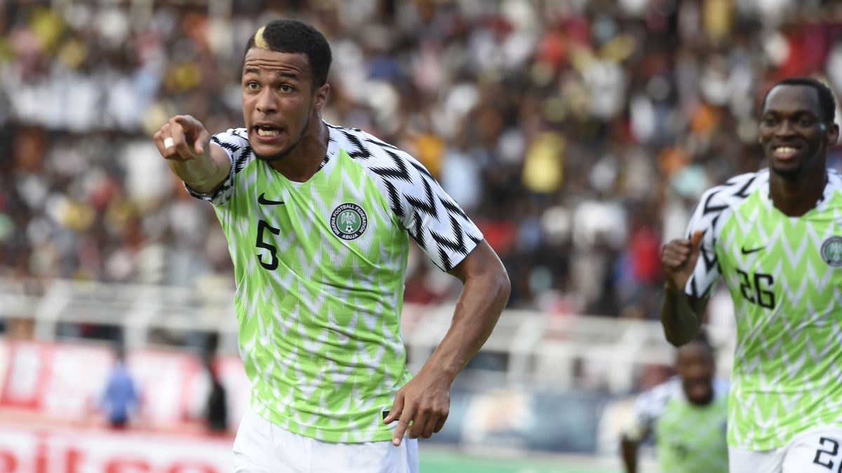 c3bfef21322 World Cup 2018 Jerseys  Nigeria