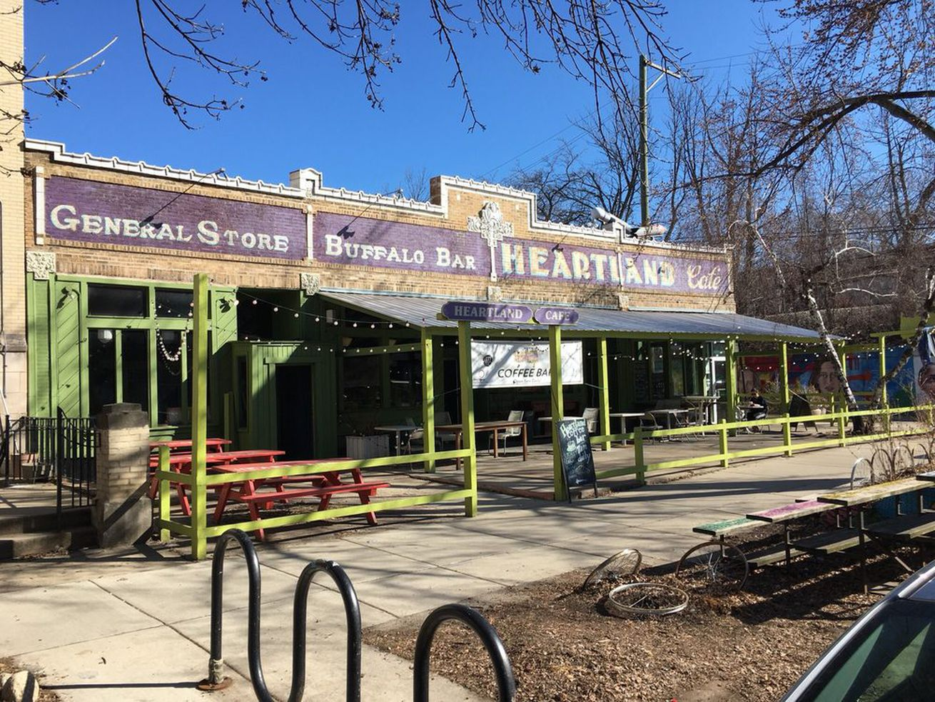 This iteration of Heartland Cafe is going away