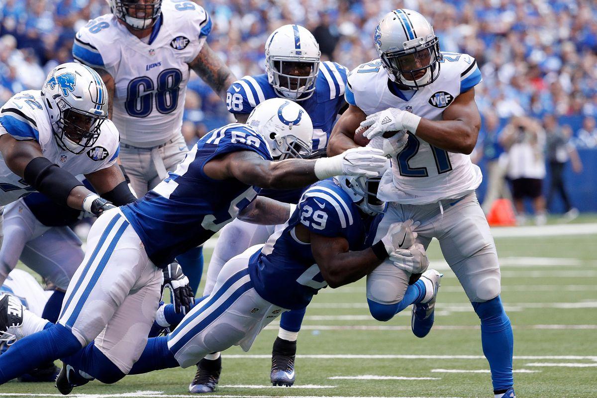 Detroit Lions v Indianapolis Colts