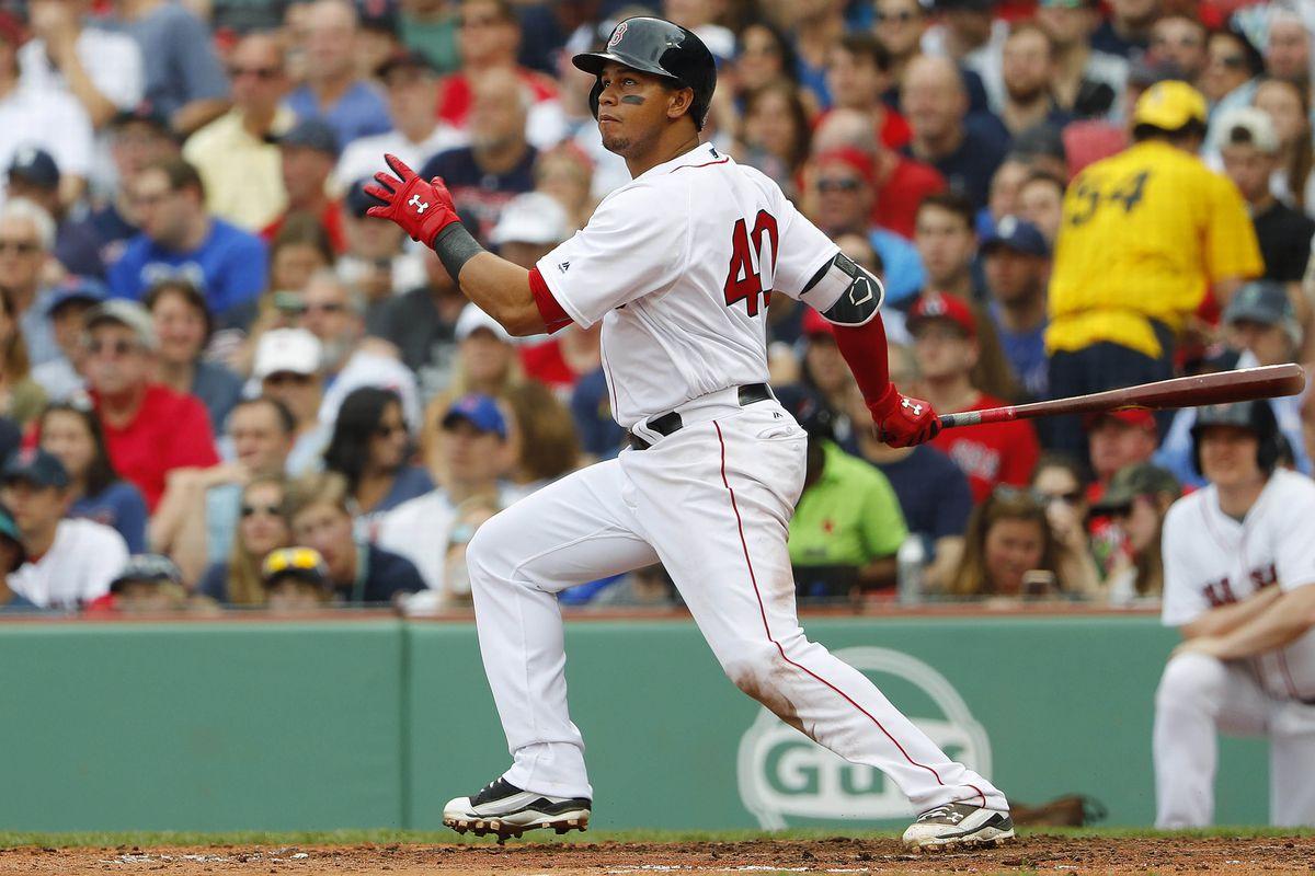 MLB: Chicago Cubs at Boston Red Sox