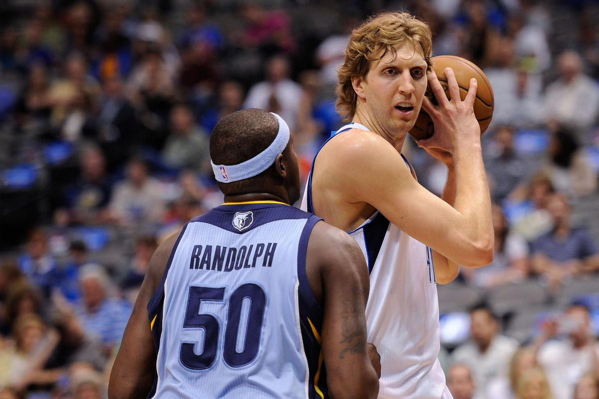 Will Z-Bo Be Lined Up Tonight Against Dirk?