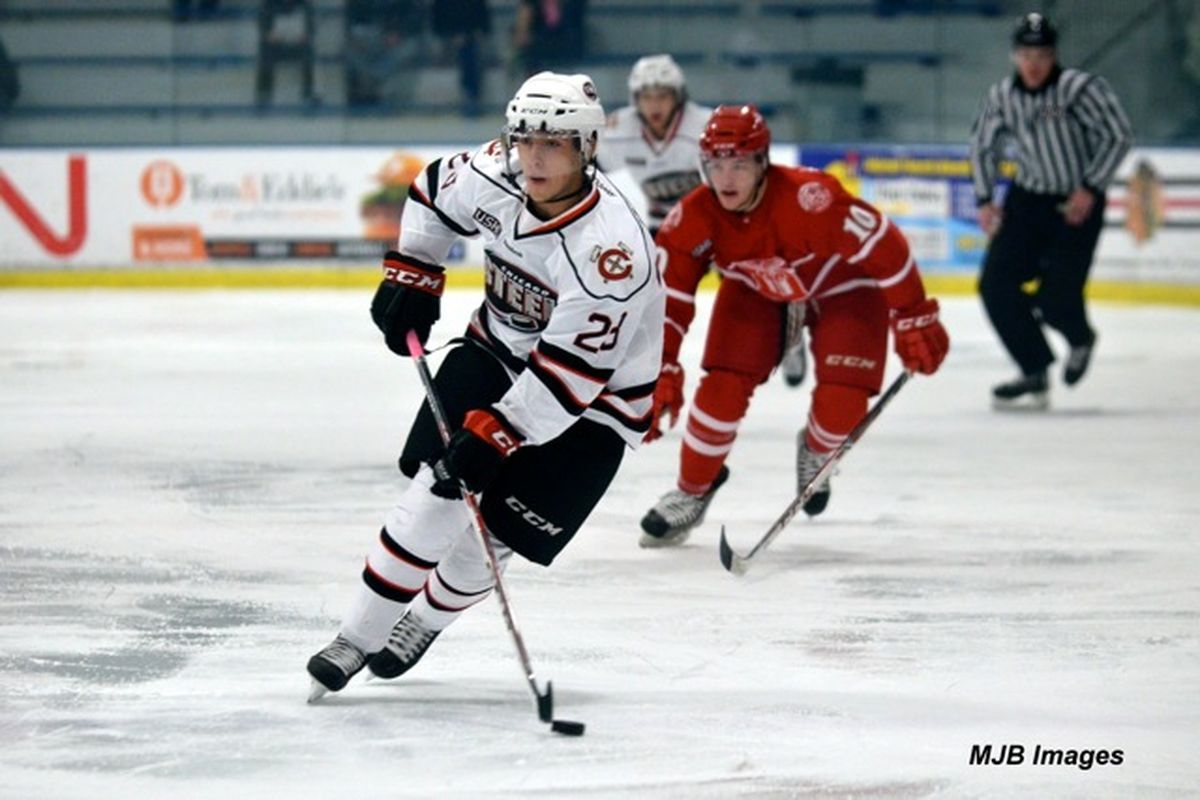 St. Cloud State commit Robby Jackson is one of 21 USHL players that will represent US at the WJAC