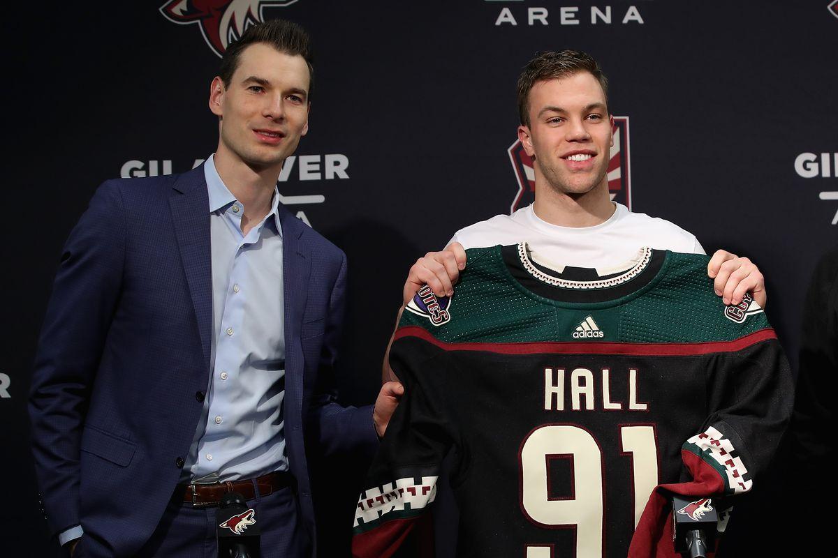 Arizona Coyotes Introduce Taylor Hall
