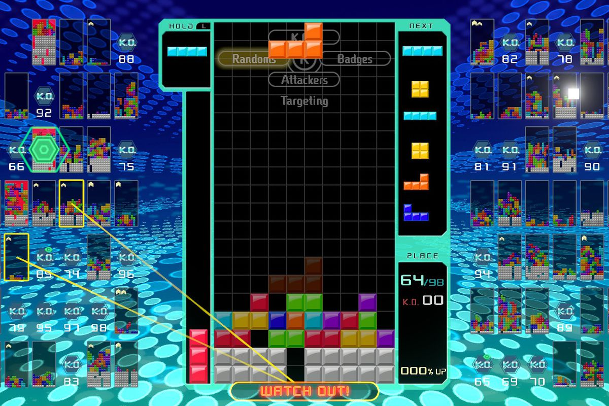 Tetris 99 on Switch manages to make the classic game more