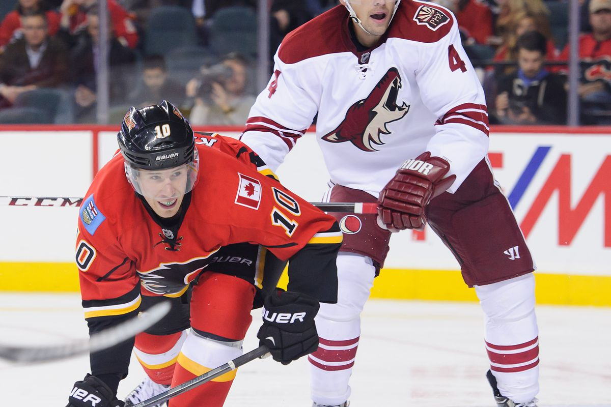 Corban Knight's NHL stint ended on Monday as he was re-assigned to the Abbotsford Heat.