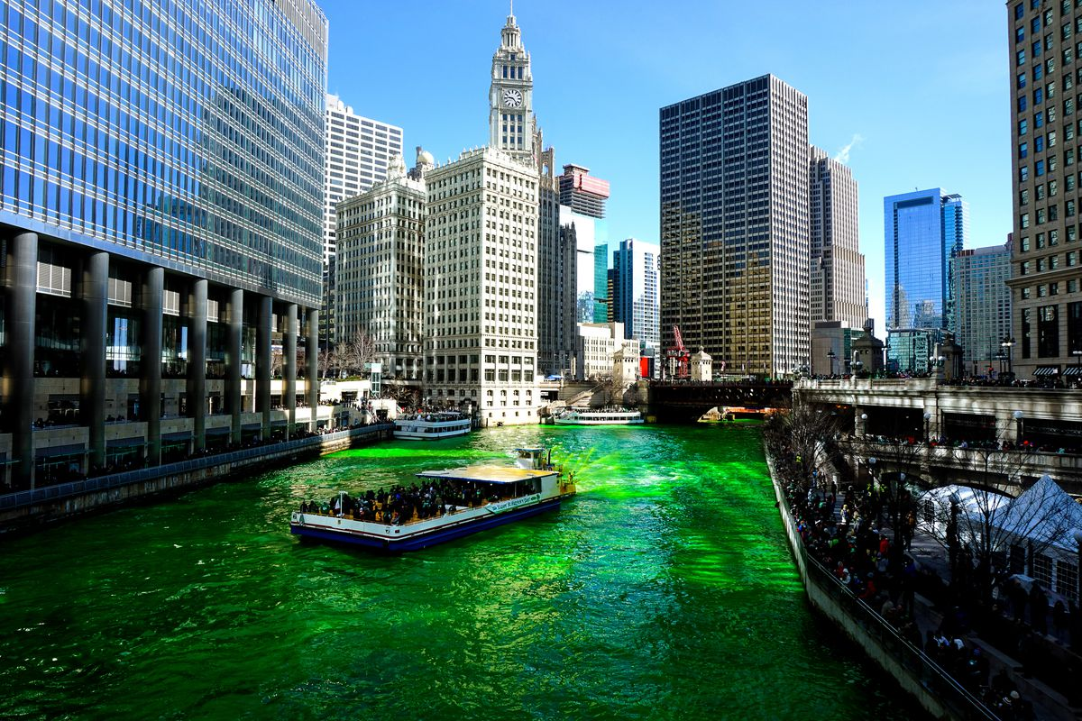 Chicago S Best Interior Designer: Chicago St. Patrick's Day Parade 2018: Route And Street