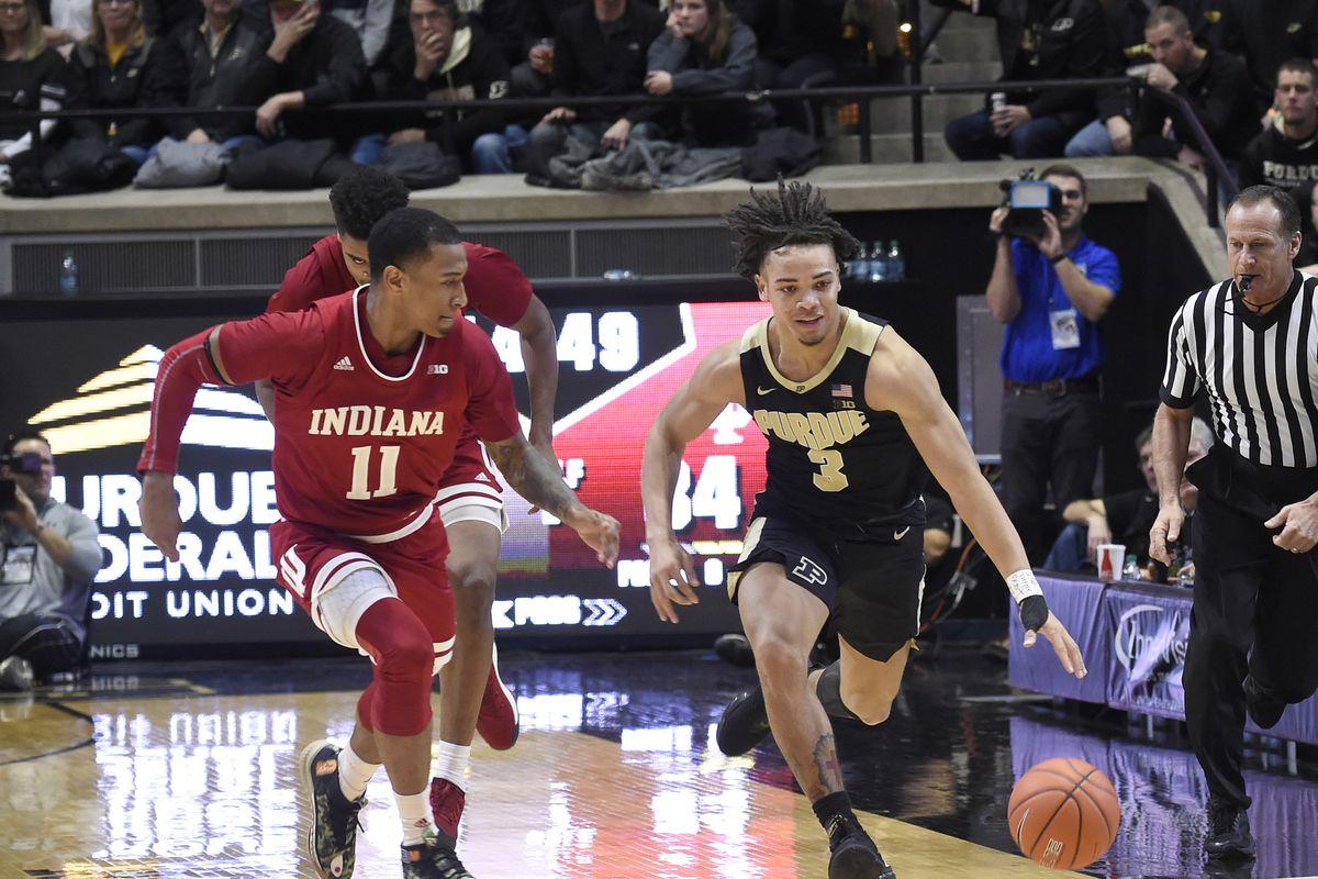 NCAA Basketball: Indiana at Purdue