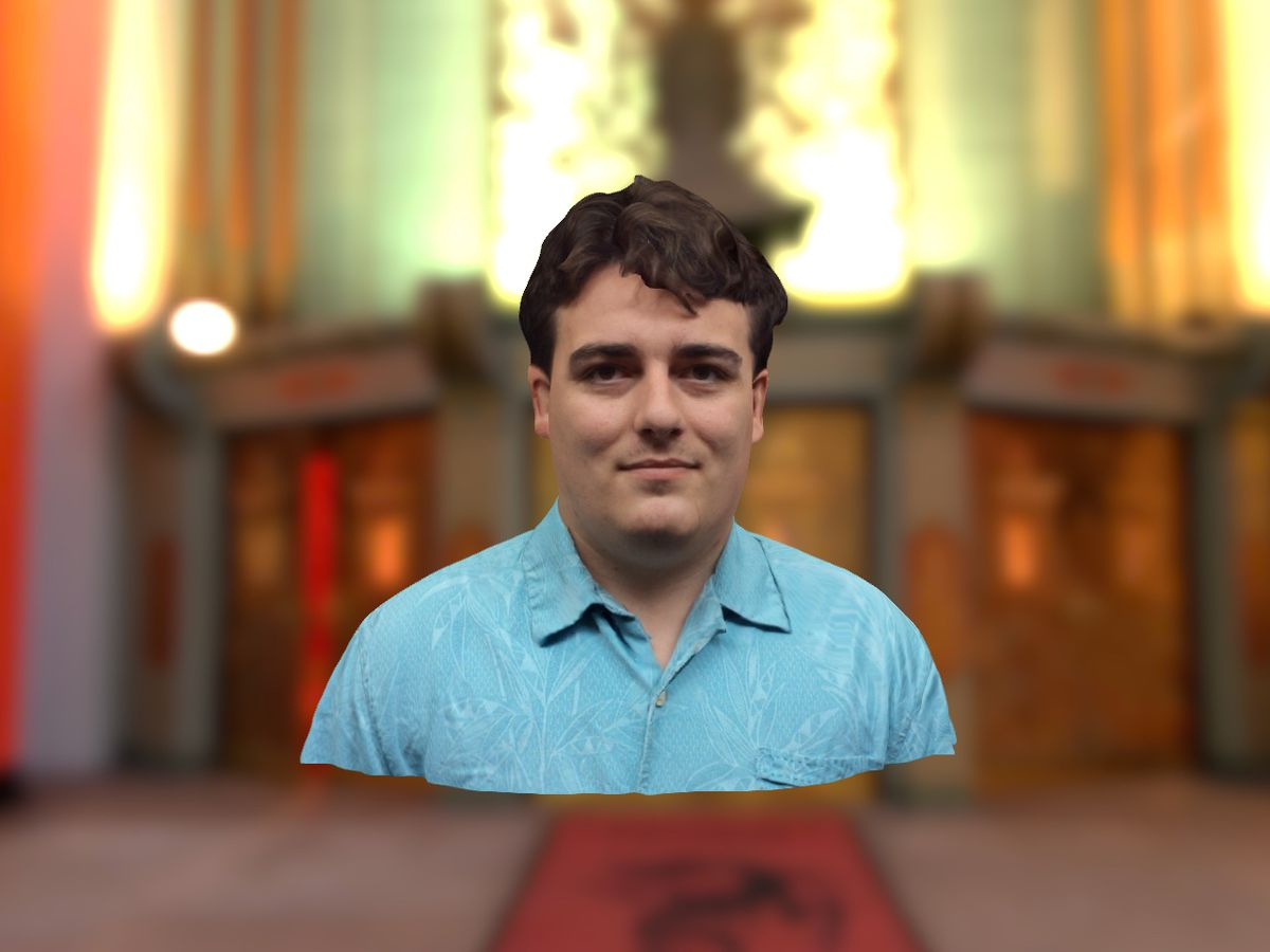 A 3-D scan of Oculus VR co-founder Palmer Luckey, made by Immersio