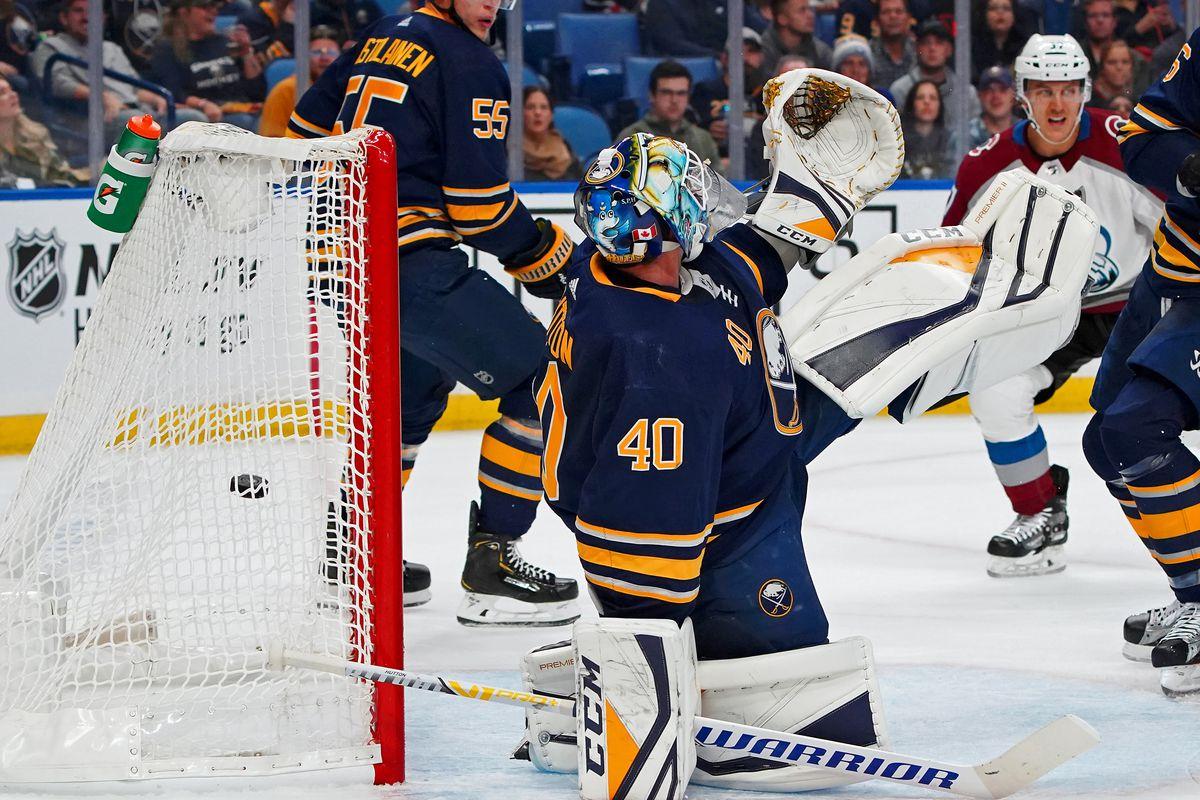 NHL: Colorado Avalanche at Buffalo Sabres