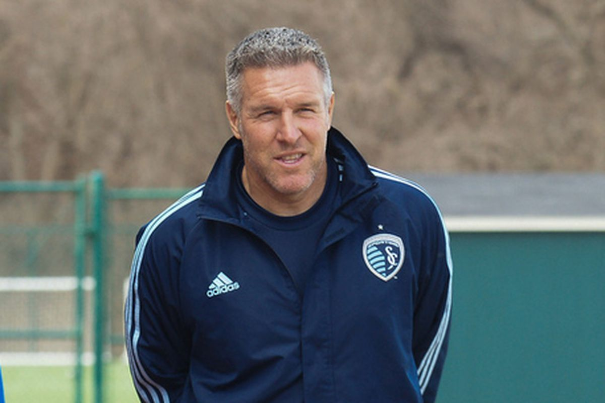 SKC Manager Peter Vermes happy to have full week of practice