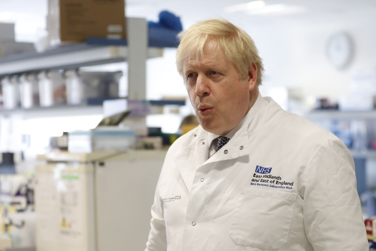 The Prime Minister Visits Public Service Workers In England