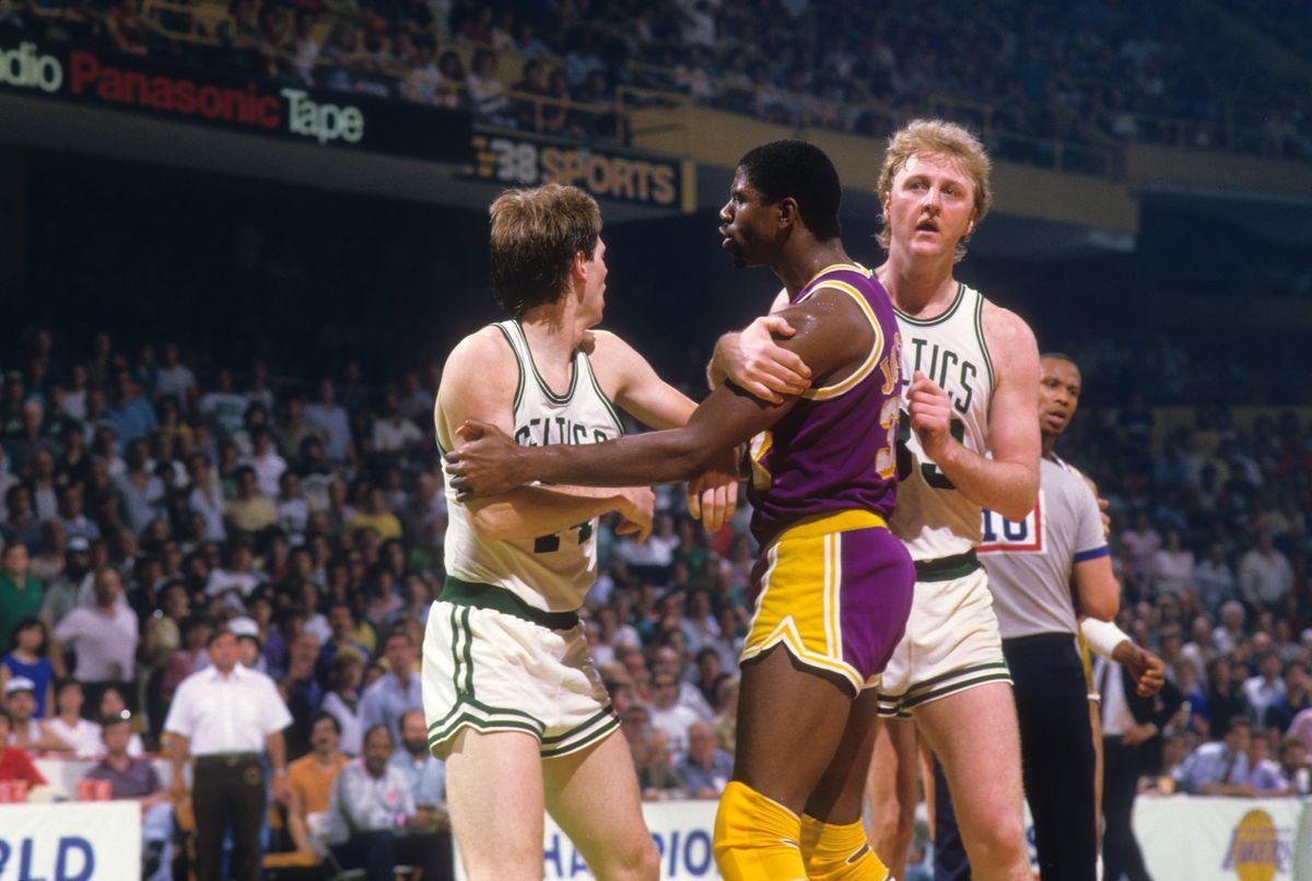 Boston Celtics vs Los Angeles Lakers, NBA Finals 1985