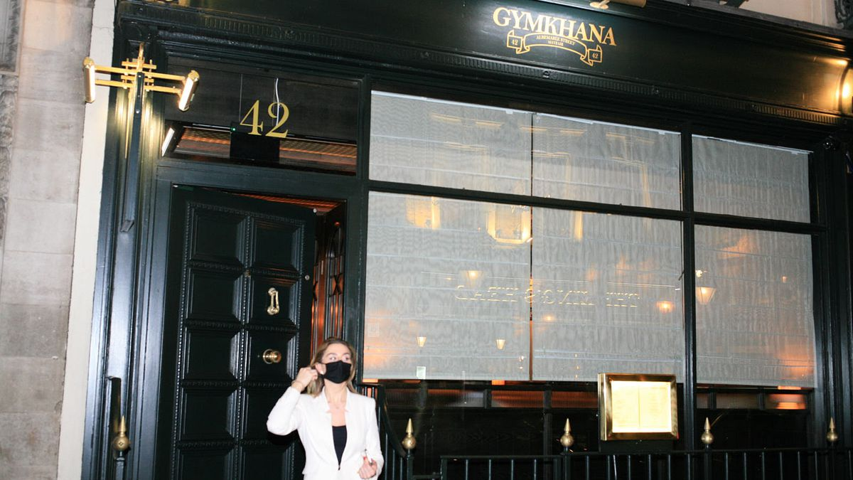 Gymkhana, the Michelin-starred Indian restaurant in Mayfair, preparing to close on Wednesday night before a four-week lockdown in England to prevent the spread of COVID-19
