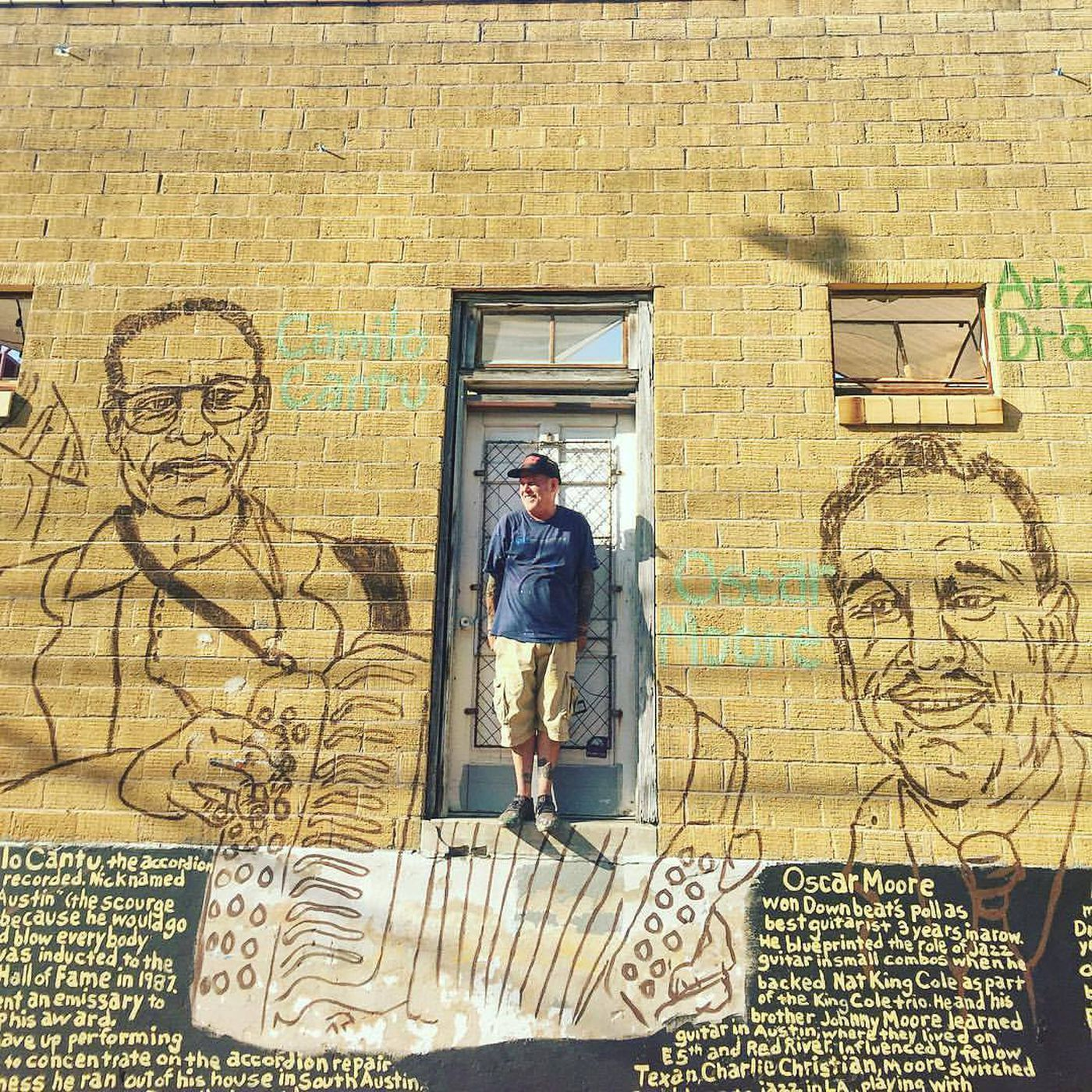 New downtown mural captures spirit of pioneering Austin musicians ...
