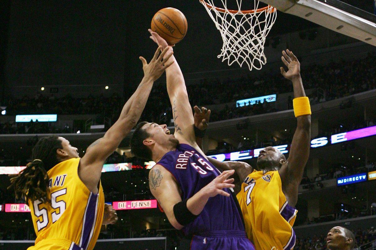 Toronto Raptors v Los Angeles Lakers