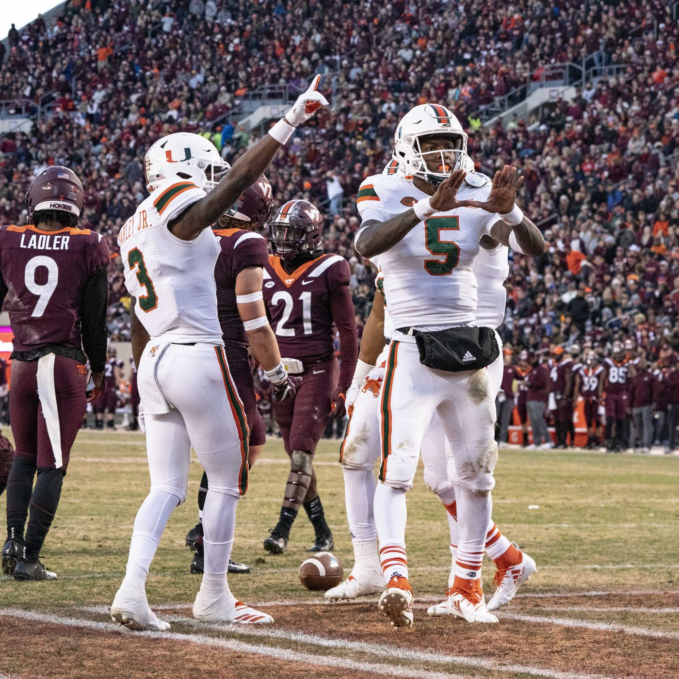 A Trip To Virginia Tech Miami S Potentially Toughest Matchup Of 2020 State Of The U