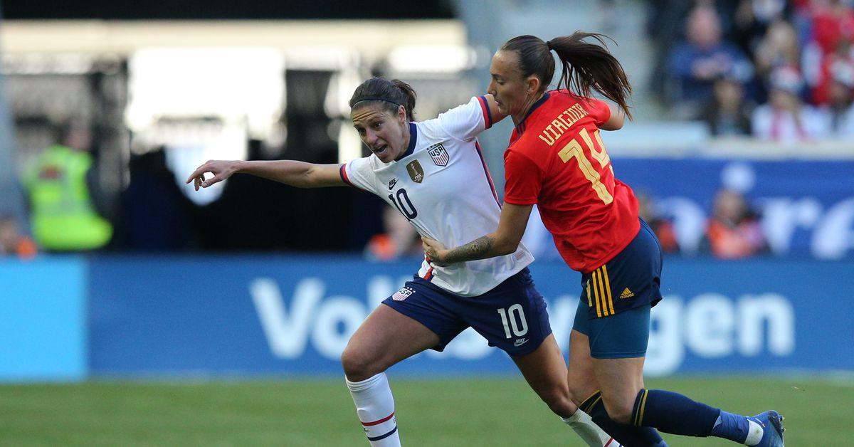 OTS World Cup Soccer Womens Slub Scoop Tee
