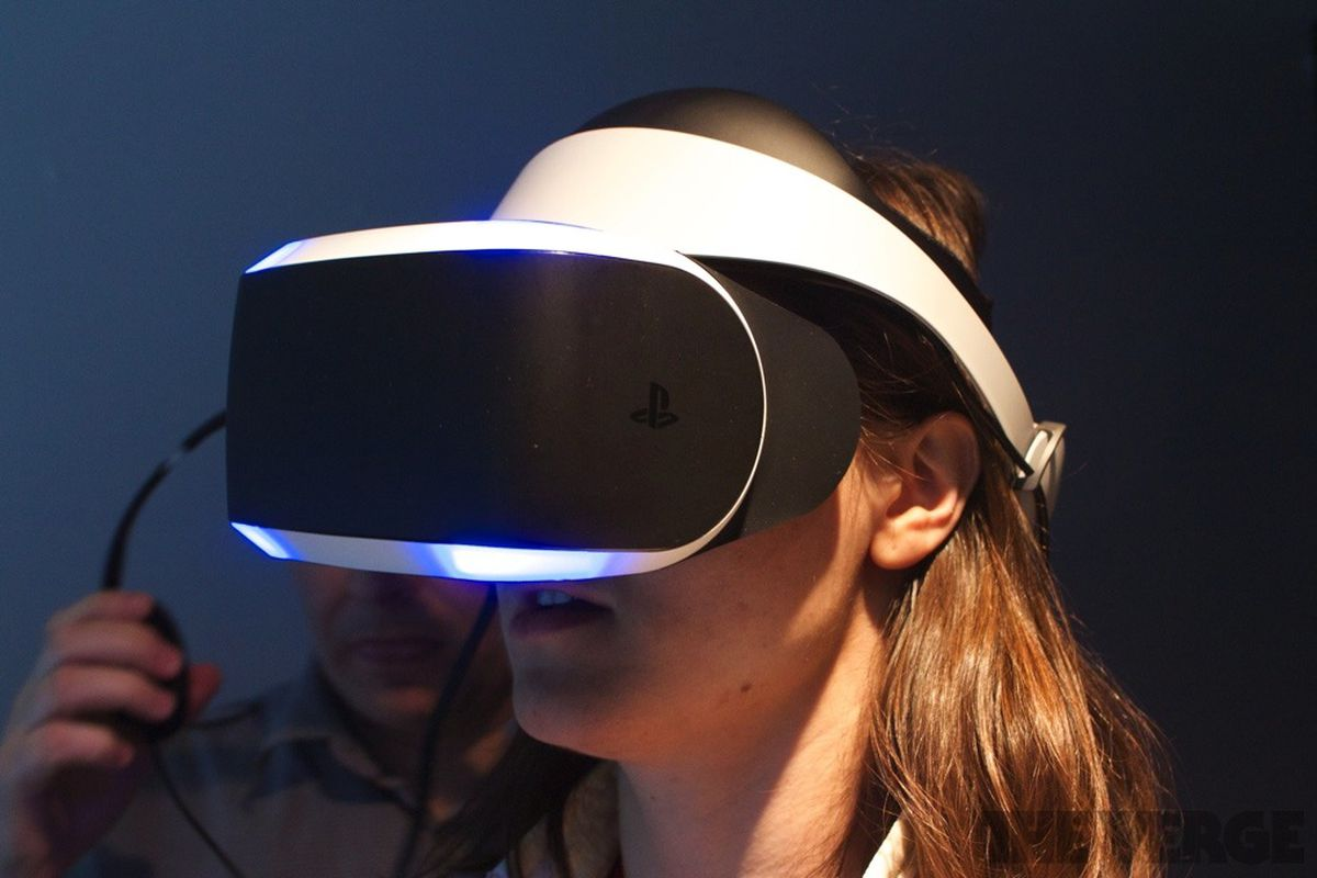 3d23405bb2d9 Sony s VR headset is a worthy competitor for the Oculus Rift - The Verge