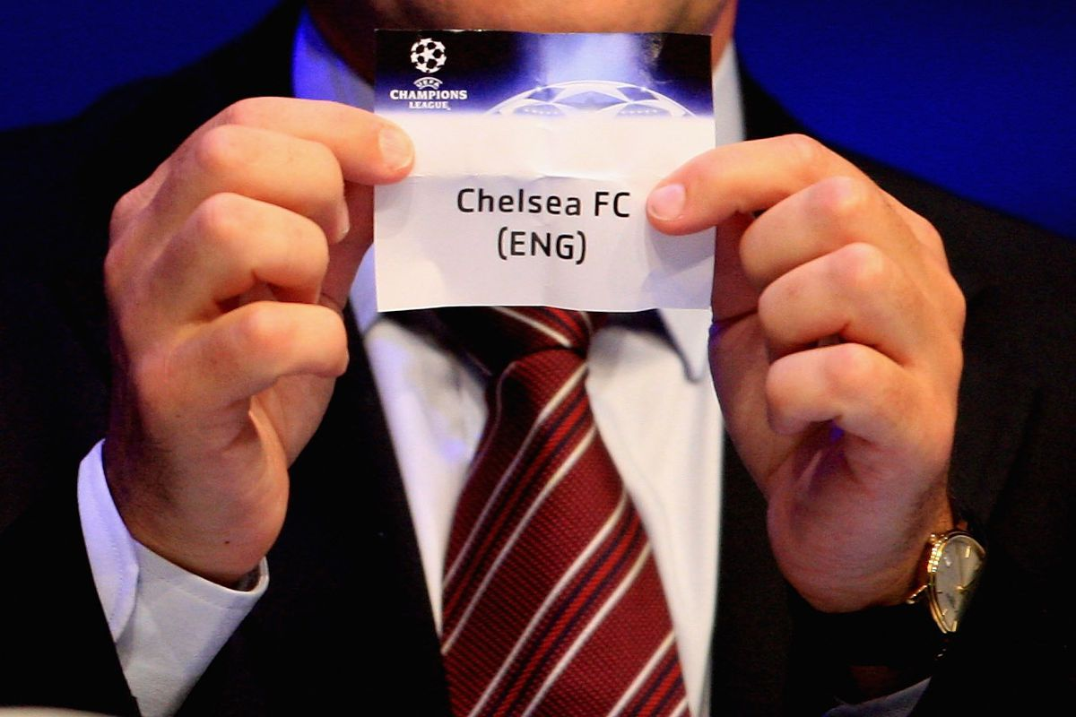 Champions League Round Of 16 Draw Chelsea To Face Psg Barcelona Or Besiktas We Ain T Got No History