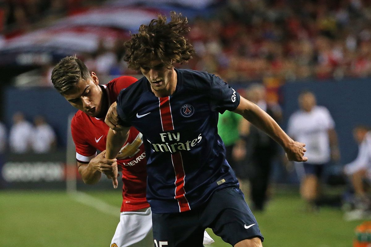 Rabiot, in action this summer on American soil.