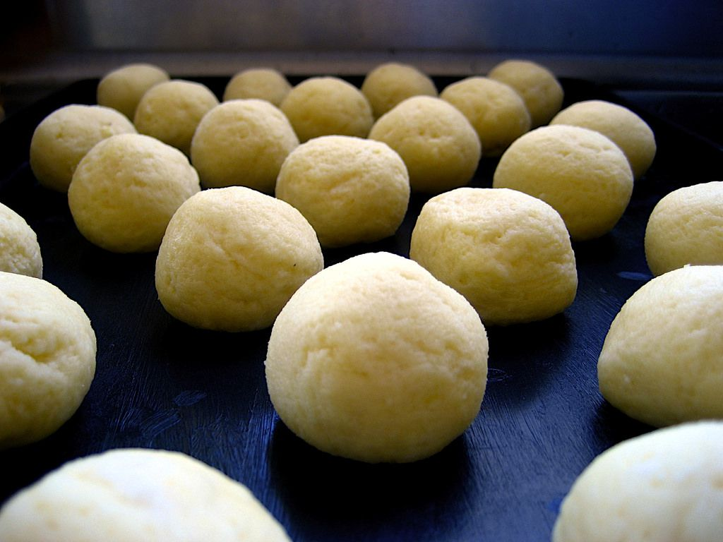 Dough, before it hits the oven.