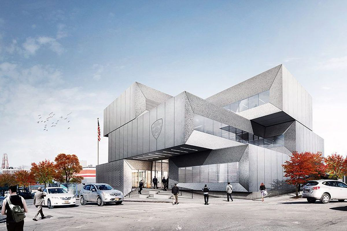 Bjarke Ingels Group S Bronx Police Precinct Building Moves