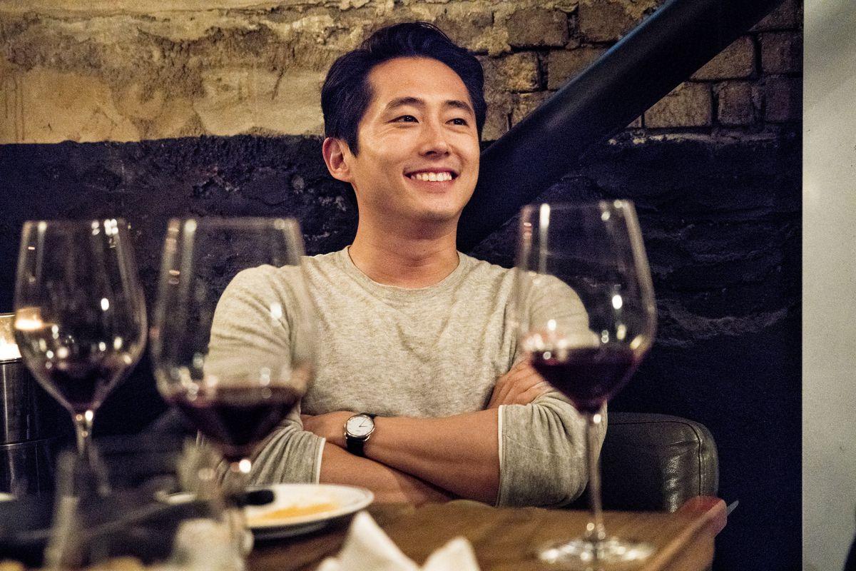Steven Yeun in Burning.