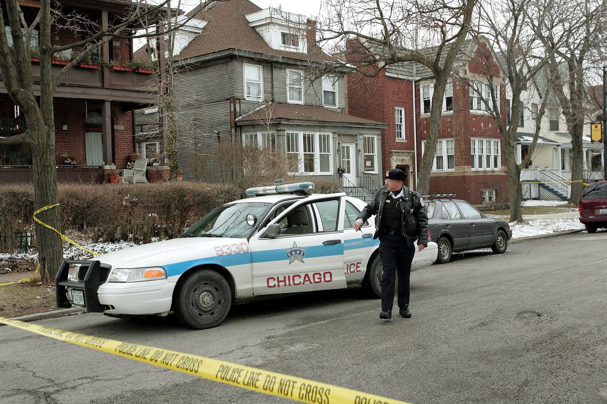 A Chicago police officer.