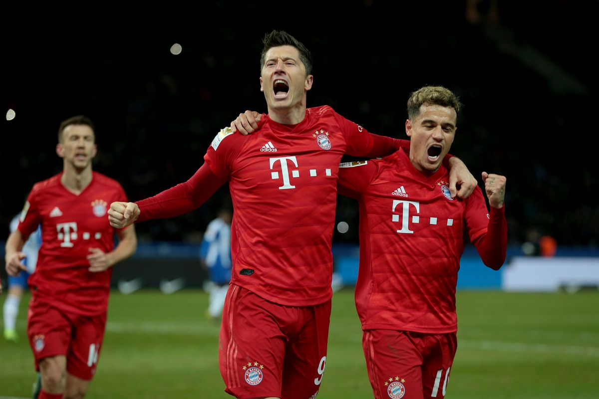 Hertha BSC v FC Bayern Muenchen - Bundesliga