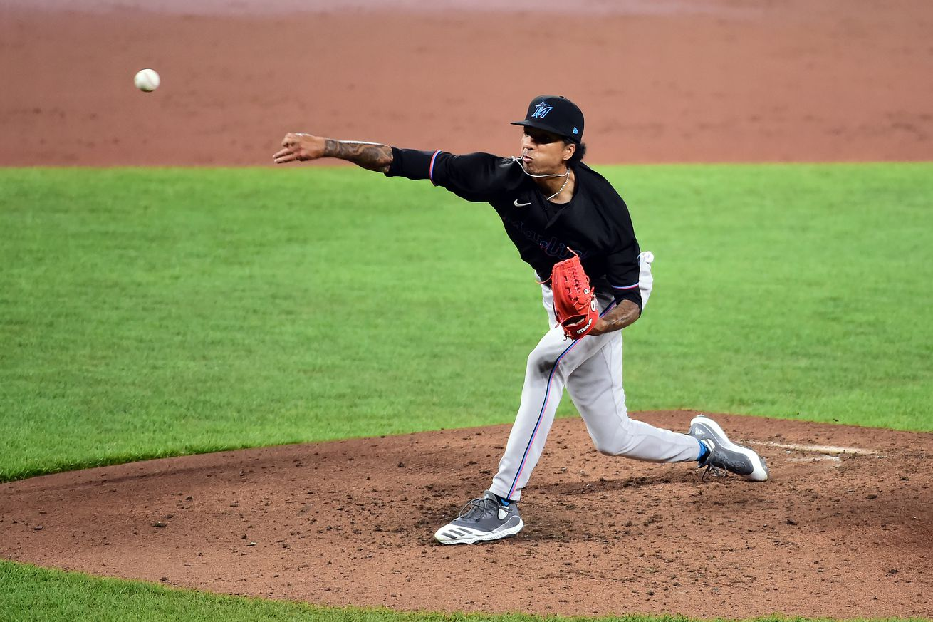 MLB: Game Two-Miami Marlins at Baltimore Orioles